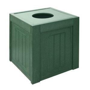 grüner Abfallbehälter rechteckig, 38L - 200150GN