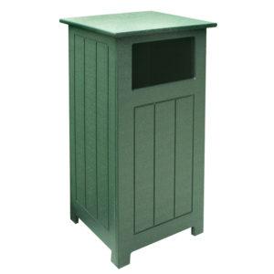 grüner Abfallbehälter rechteckig, 61L - 200170GN