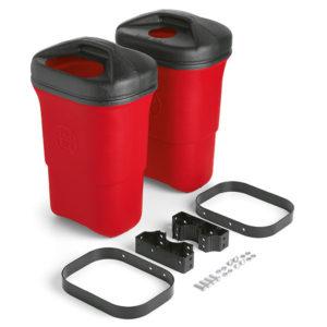 Abfalleimer Trash Mate® doppelt, 34L - Rot - PA3001-01
