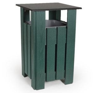 Abfallbehälter Trash Pro 20 - Hunter Grün - PA3830