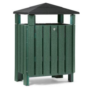 Abfallbehälter Trash Pro 30 - Hunter Grün - PA3810