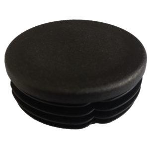 schwarze Abschlusskappe für Montagepfosten - PA458