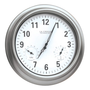 Atom-Uhr, silber - 200902