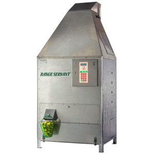 Ballautomat Ultima 12, für 12'000 Bälle