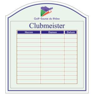 Clubmeister Board