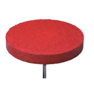 rote Distanzmarkierung aus Kunststoff - 09000