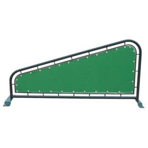 Divider mit grünem Banner - P77681