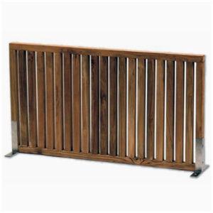Range Divider aus Teak-Holz mit Stahlfüssen - DU82333