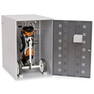 Elektro Caddy Schrank geöffnet B&H - SI904.GOL