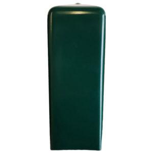 Endkappe eckig, grün - PA11699