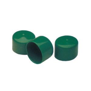 grüne Endkappe rund - 16153