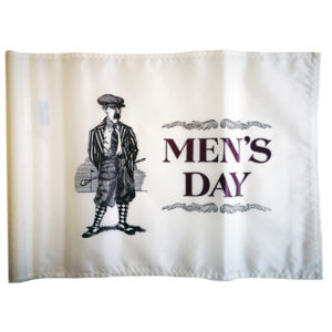"Fahne ""MEN'S DAY"""