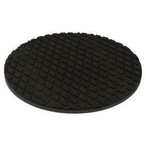 schwarze Gummiplatte für die Ballwascher von Range Servant
