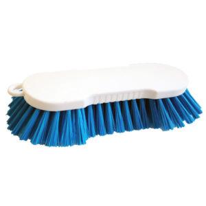 grosse Handwaschbürste (24 cm) mit blauen Borsten - SI99046
