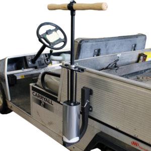 Lochstecher-Halterung für das einfache Transportieren eines Lochstechers