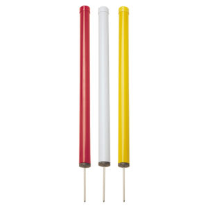 Markierpfosten 61 cm, rund, PVC mit Spike