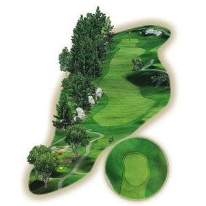 mygreen 3D Golfplatz Visualisierung