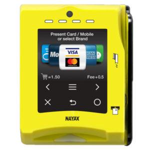 Zahlungssystem Nayax VPOS Touch