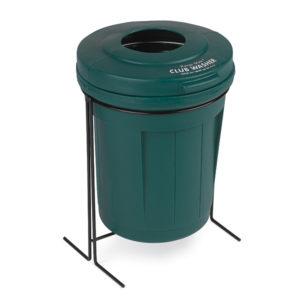 grüner Schlägerreiniger Range Mate mit Ständer - 01650