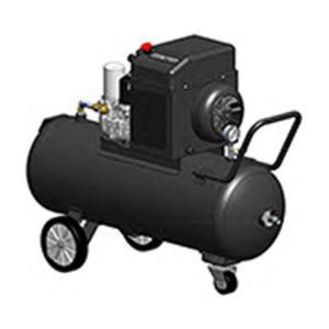 Schraubenkompressor mit 200L-Tank
