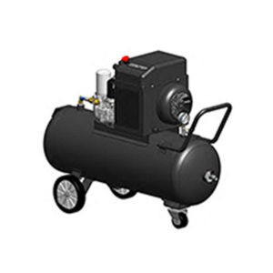 Schraubenkompressor mit 90L-Tank