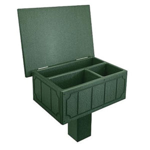 grüne Scorecard Box - 100180GN