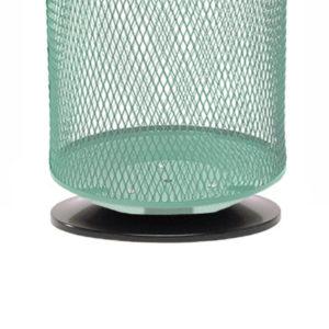 Metallsockel zu Abfallkorb 76 L - 13902
