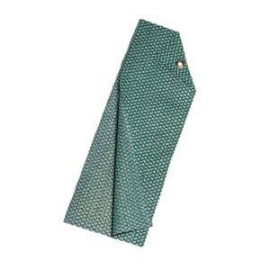 grün-weisses Tee-Tuch Chix, Einweg - 04965
