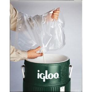 Wasserbeutel Igloo Schritt 2
